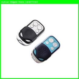 Wholesale Moto Door - ALKcar OBD2Code 2pc Universal Garage Door Cloning Remote Control Key Fob 433Mhz Gate Copy Code Universal Moto Car key self copy A002