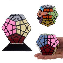 Wholesale Megaminx Cube - Wholesale-Free shipping!!Hight Quality Funny 5*5*5 Fashion alien Strange- shape Megaminx magic cube +Tutorial + base