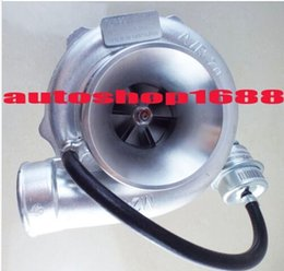 Wholesale T25 Flange - GT28 GT2876-2 a r 0.70 compressor housing a r 0.49 T25 flange 5 bolt water and oil cooled turbo turbocharger