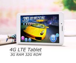 Wholesale Slim Gsm Tablet - Octa Core 7 inch pc tablet 4G LTE phone mobile 3G Sim Card Slot 32G 3GB RAM 8.0MP IPS WIFI GPS GSM WCDMA