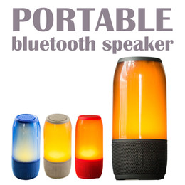 Wholesale Wholesale Portable Lithium - Bluetooth Stereo Speakers BT call handsfree Portable Wireless Speakers 2000mAh Lithium ion battery Best Outdoor Bluetooth Speakers