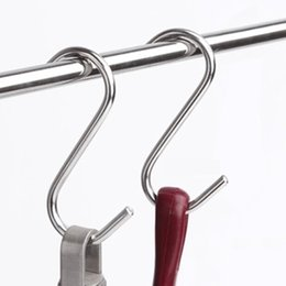 Wholesale Bathroom Storage Closet - Stainless Steel S Hook, Storage Hanger Used in Kitchen, Bathroom and Closet