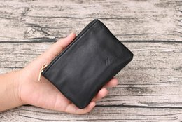 Wholesale Coin Bag Leather - New designer Fashion Tote AAA wallet High Quality Leather luxury Men short Wallets Famous Brand for women Men purse Clutch Bags with box