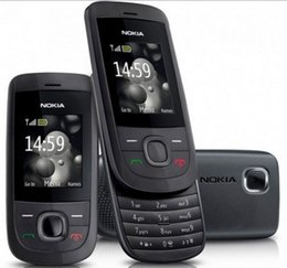 Wholesale Cheap Camera Phones - Cheap Unlocked original nokia 2220 slide cell phone battery 860mah mp3 player one year warranty Refurbished Phone