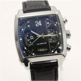 Wholesale Rs 12 - 2017 New High quality Luxury Fashion Wristwatche Wholesale men watch sports Calibre 12 RS Automatic Stainless steel Men's Watches 6582