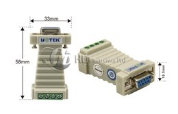 Wholesale Communication Adapter - RS232 to RS485 adapter switch 232 turn 485 adaptor 485 communication converter Port-powered Mini-size 600w Surging protetion