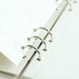 Comercio al por mayor Metal 3-Ring Spines vinculantes Combs Loose Leaf Binder DIY Álbum de fotos Anillos Libro Calendario Round Circle Joural Storage Orgnization desde fabricantes