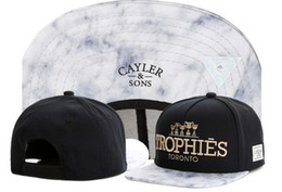 Wholesale Rolls Printing - Cayler & Sons Cappello snapback Sweet Roll Light & Smoke HATS,TROPHIES Adjustable Snapback Baseball Cap HAT,Cheap Athletic Sport Ball caps