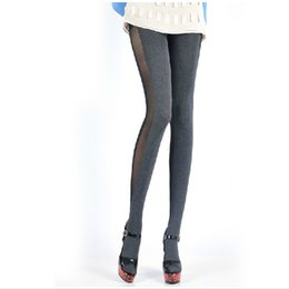 Wholesale Hosiery Pants - 2015 Fashion Seamless Pantyhose Patterned Tights Women Tatoo Hosiery Pants