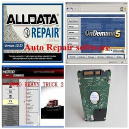Wholesale Chevrolet 47 - Free Shipping Alldata mitchell alldata software with mitchell on demand 47 in1TB new hard disk auto repair software support All car systems