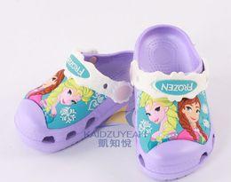 Wholesale Shoes Child Sandals Fashion Princess - new fashion kids shoes sandal girl shoes frozen shoes summer children shoes princess elsa anna shoes free shipping