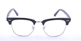 Wholesale Classic Eyeglasses - Retro Glasses Myopia 2015 Big Lens Metal Frame PC Carfic 5154 Optical Glasses Classic Oculos Eyewear Tortoise Black Eyeglass Novetly