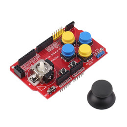 Wholesale Arduino Shields - Wholesale-3.3-5V Gamepad Joystick Shield Module For Arduino Simulated Keyboard Mouse new arrival