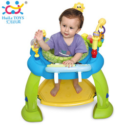 Wholesale Play Zoo - Baby Jumping Bouncer Zoo Rocker Seat Chair Safe Play Area Learning Toys with Electronic Organ Bounce Around Activity Center Gift