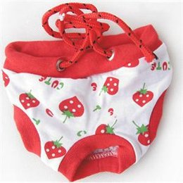 Wholesale Dog Nappies - 2014 New Practical Pet Products Cute Dog Puppy Pants Convenient Clean Dog Nappy