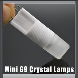 Wholesale Led Corn Lamp Price - lowest price G9 crystal chandelier LED lamp Dimmable 3W light beads pardew ceramic G9 light beads LED Bulb 85-265v 110v 220v led light