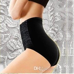 Wholesale Sexy Carry - Women modal high waist Sexy lace belly in Carry buttock briefs underwear