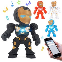 Wireless c online-Carino C-89 Iron Man Mini altoparlante portatile senza fili Bluetooth Nuovo robot Design altoparlanti con supporto TF FM Radio vivavoce