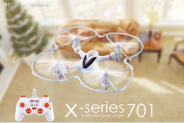Wholesale Airplanes Class Brushless - Wholesale-Free Shipping!MJX X701 Quadcopter RC Toys Airplane 3D One Key Roll Gravity Sensor 6-Aixs Gryo