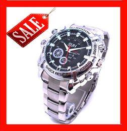 Wholesale 32gb watch spy camera hd - 32GB Free Shipping NEW 12MP 1080P HD Spy Hidden Camera DVR Mini Watch Cam IR Night Vision Waterproof