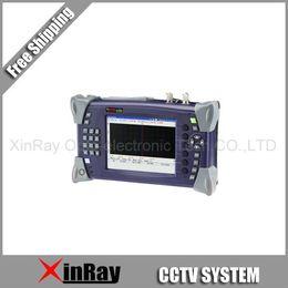 Wholesale Cctv Tester Dhl - Wholesale-DHL Free Shipping XR-OT4000 Handheld OTDR Tester Used in CCTV& digital system FTTx optical fiber cable-based test instrument
