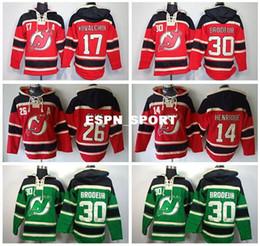 Wholesale Elias Jersey - Factory Outlet, New Jersey Devils Old Time Hoodies 17 Ilya Kovalchuk 30 Martin Brodeur Hoody 26 Patrik Elias 14 Adam Henrique Ice Hockey Hoo