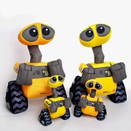 Yüksek kalite 25 ~ 55 cm WALL-E canlı robot Peluş Oyuncak modeli Duvar E Minion Robot Dolması peluş bebek oyuncak bebek çocu ... cheap robots dolls nereden robot bebekleri tedarikçiler
