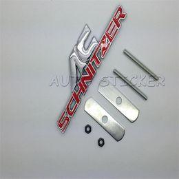 Wholesale Ac Schnitzer - Car Styling Front Grille Emblem Sticker For AC SCHNITZER BMW E46 E52 E53 E60 E90 E91 E92 E93 F30 F20 F10 F13 M3 M5 M6 X1 X3 X5 X6 Two Colors
