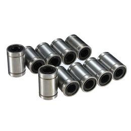 Wholesale 8mm Bearings - New Arrival 10pcs lot LM8UU 8mm Linear Ball Bearing Bush Bushing Carbon Chromium Bearing Steel order<$18no track