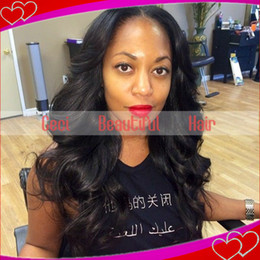 Wholesale Human Brazillian Hair 5a - Best Quality 5A Virgin Brazillian Human Hair Lace Front Wig&Glueless Full Lace Wigs Body Wave Free Shipping For Black Women