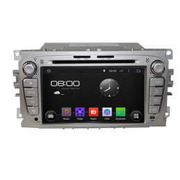Wholesale Capacitive Touchscreen Android Car Gps - Pure Android 4.4 2 Din 7inch Capacitive Touchscreen Car DVD Player For Ford Mondeo Tourneo Connect Transit Connect S-max with GPS WiFi 3G