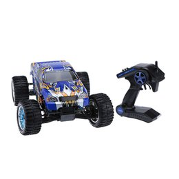 Wholesale Hsp Brushless - New Original HSP 94111 2.4Ghz 2CH Transmitter Electronic Powered 3300KV Brushless Motor 1 10 RTR 4WD Off-road RC Car