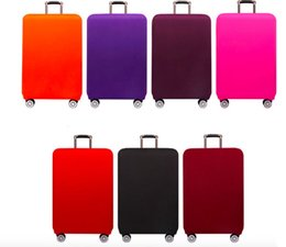 Wholesale Protective Covers For Luggage - Thick durable travel bag suitcase protective dust proof cover S M L XL for 20, 24, 26, 28, 30, 32 inch luggage case