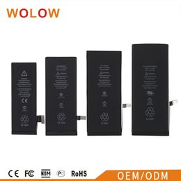 Wholesale Apple Internal - For iphone 6 Battery 6S ORIGINAL Built-in Internal Li-ion Battery Replacement 1810mah 1715mah Stable Flex Safe Package for IP 6 6s