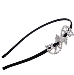 Wholesale S Shaped Headbands - Fashion Austria Crystal Hair Bands S Shape Charm Headbands Womens Wedding Party Hair Accessories Fine Jewelry Valentine Gift DCBJ286