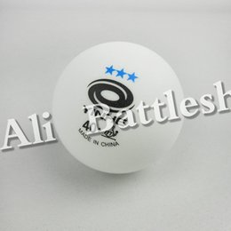 Wholesale Table Tennis Plastic Ball - Wholesale- Original 12x YINHE New Materials Plastic Seamless 40+ Table Tennis Balls White 3 Stars
