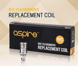 Wholesale Wholesale Vivi Nova Replacement Heads - 100% Original Aspire BVC Coils Head For Aspire BDC Atomizers CE5 CE5S ET ETS Vivi Nova Mini Vivi Nova BVC Replacement Coils Authentic