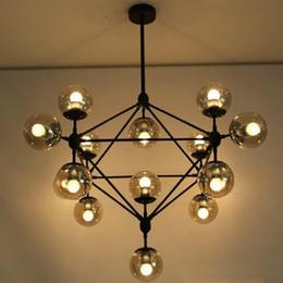 Wholesale Dna Pendant Light - Jason miller MODO Chandelier Droplight living room Pendant Lamp Light DNA pendant lights 5 10 15 21 heads dining room Decoration