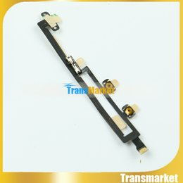 Wholesale Ipad Power Button - 100% New Power On Off switch Volume Button Flex Cable For ipad Mini 5 replacement parts Best Quality Free shipping t28