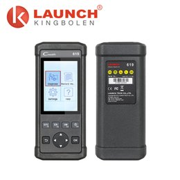 Wholesale Creader X431 - LAUNCH CReader 619 OBDII EOBD Code Reader Supports ABS SRS diagnostic X431 CR619 CReader 619 Similar as Autel AL619 Auto Scanner