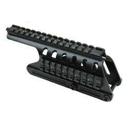 Canada Funpowerland Remington 870 RM870 Shotgun 12 Ga. Lunette de visée Picatinny Monter le rail avec rail latéral Livraison gratuite Offre