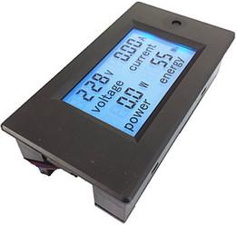 Wholesale Power Multimeter - Wholesale-AC 100A 80-260V Digital LCD Voltmeter ammeter power meter multimeter PZEM-061