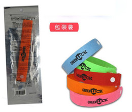 Wholesale Natural Composites - 1000pcs hot sale Baby natural Anti-mosquito Bracelets Baby Mosquito Repellent Band Bracelets good quality Anti Mosquito Baby wristbands D316
