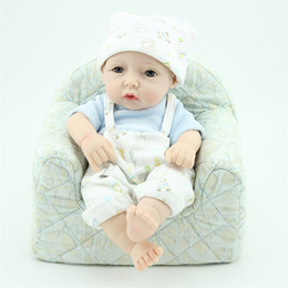Wholesale Lifelike Women Dolls - Kawaii Reborn Newborn Dolls with Rompers Baby Soft Lifelike Reborn Boy Dolls Toys in Clothes Kids Women Christmas Gifts