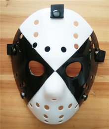 Wholesale Cheap High Fashion For Men - Fashion Jason Hockey Masks Plastic Material Vintage Masquerade Masks High Quality and Cheap Mask for Masquerade New Arrival JHK004