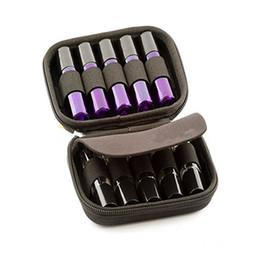 10 Bouteille Slot Case Protéger pour Rouleaux 10ML Huiles Essentielles Bouteille Sac de Rangement Voyage Transporteur Organisateur Titulaire Maquillage Rangement ? partir de fabricateur