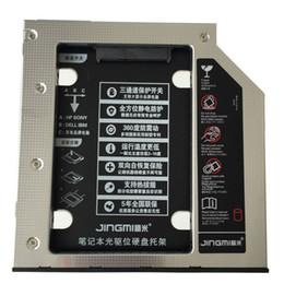 caddy para laptop Desconto Atacado-Novo Disco Rígido Caddy SATA 3.0 9.5mm Alumínio SuperDrive para laptop CD-ROM HDD Caddy Suporte Caso SSD HDD Recinto