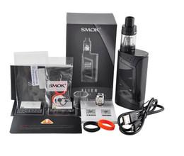 Wholesale Alien Black - 2017 Hot quality SMOK Alien starter Kit with 3ml TF box mod V8 Baby atomizer vape 220W free DHL