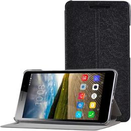 Lenovo phab online-100 pezzi cover di lusso per Lenovo PHAB Plus PB1-770N Tablet 6.8 pollici 2015 Custodia in pelle PU con supporto + Pellicola protettiva per schermo