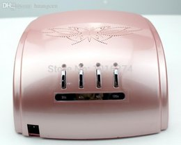 Wholesale Machine Lamp Best Quality - Wholesale-cheap hotsale salon best quality blister safe packing nail dryer machine 110v-220v timer auto sensor 60w ccfl uv led nail lamp
